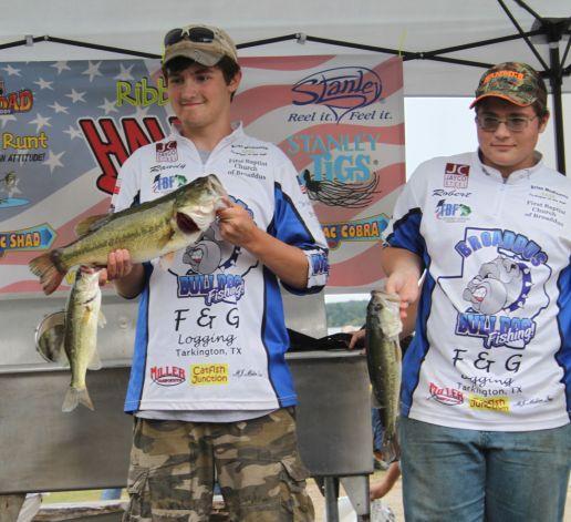 Deep east texas high school fishing tournament was won by for Fishing tournaments in texas