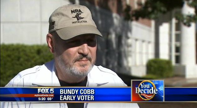GA Voter Told He Couldn't Wear His NRA Instructor Hat ...
