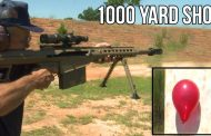 Jerry Miculek Makes 1,000 Yard, Off-Hand Shot in 2 Seconds With .50 Cal Rifle (VIDEO)