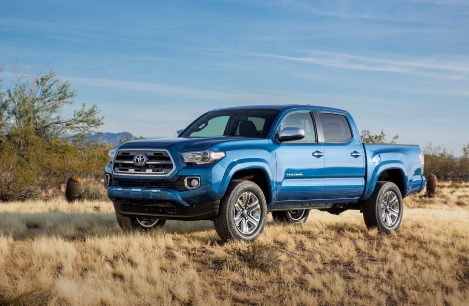 All new 2016 Toyota Tacoma