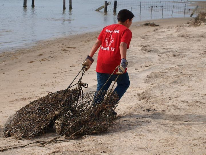 CRAB TRAP CLEANUP
