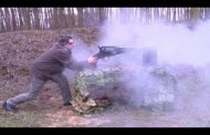 Firing the World's Largest Revolver (VIDEO)
