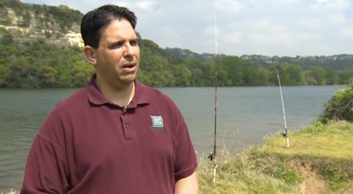 Grass eating carp raising concerns on lake austin texas for Texas non game fish