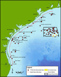 TF&G - ARTIFICIAL REEF MAP