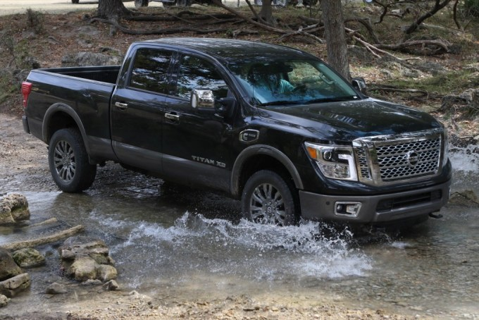 "NASHVILLE, Tenn. (Oct. 13, 2015) – The all-new 2016 Nissan TITAN XD full-size pickup has been named ""Truck of Texas"" by the Texas Auto Writers Association (TAWA) in its annual 2015 Texas Truck Rodeo, which puts the industry's best truck, SUVs and CUVs through a grueling two-day evaluation at the historic Knibbe Ranch in Spring Branch, Texas."