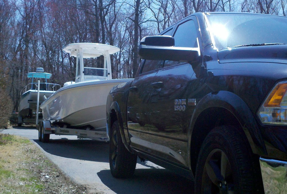 towing boats