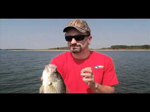 Thump and wait and wait and wait crappie (video)