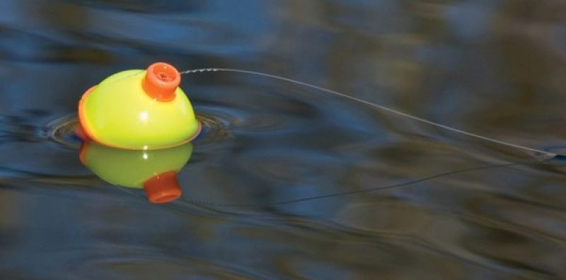 A simple fishing float or bobber provides a number of advantages for the bank fisherman.