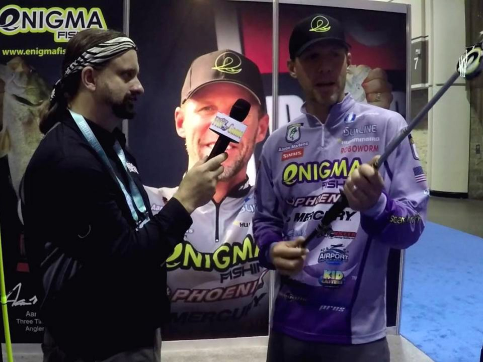enigma fishing icast
