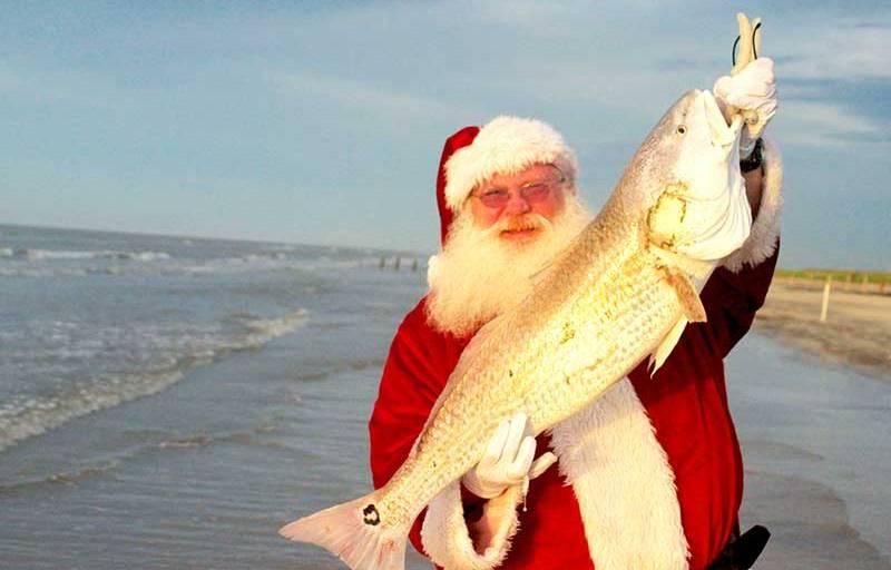 Surf Fishing Santa: A Gulf Coast Christmas