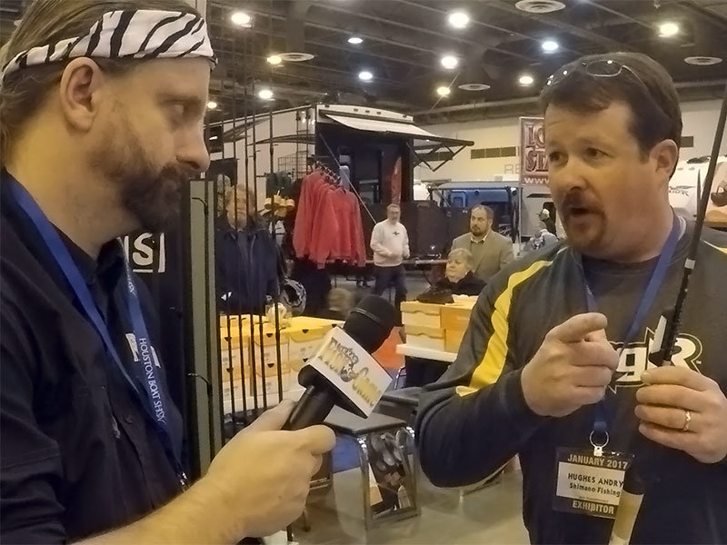 2017 houston boat show day 1 fishing tackle coverage for Fishing tackle unlimited houston tx