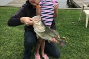 Texas Hotshots - 6 year old lands HUGE first fish