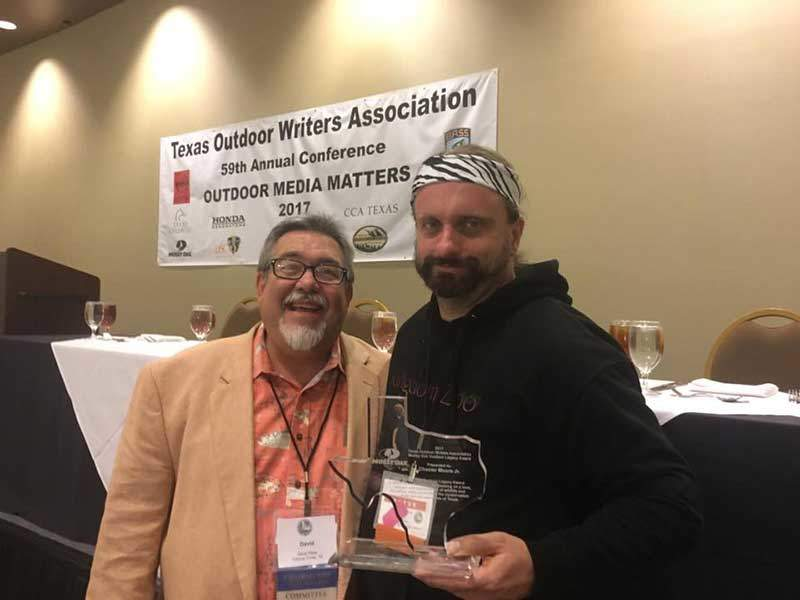 TF&G Editor-in-Chief Chester Moore Wins