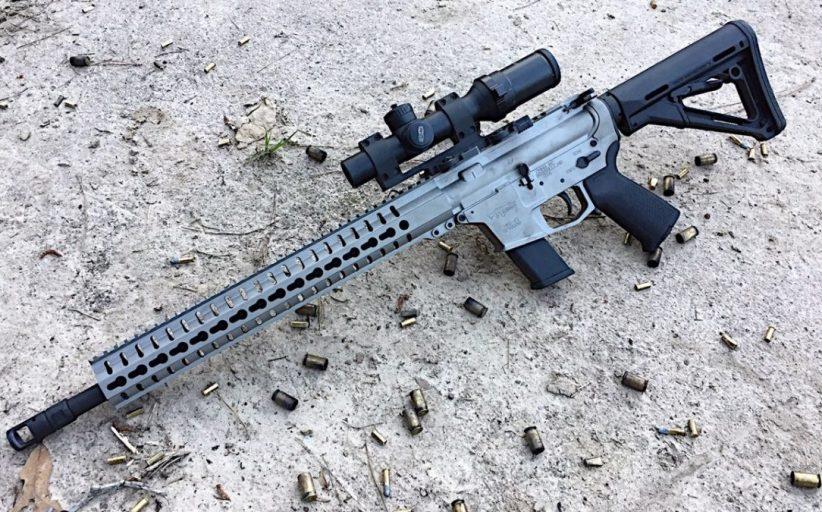 The CMMG Guard - .45ACP AR15!