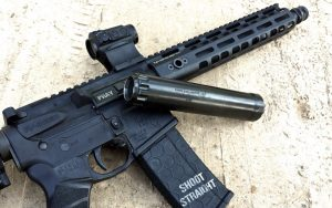 The Griffin Alpha Suppressor with a 5.56 SBR