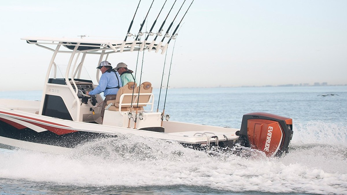 On the Water with Evinrude E TEC G2 300 Outboards - Texas Fish