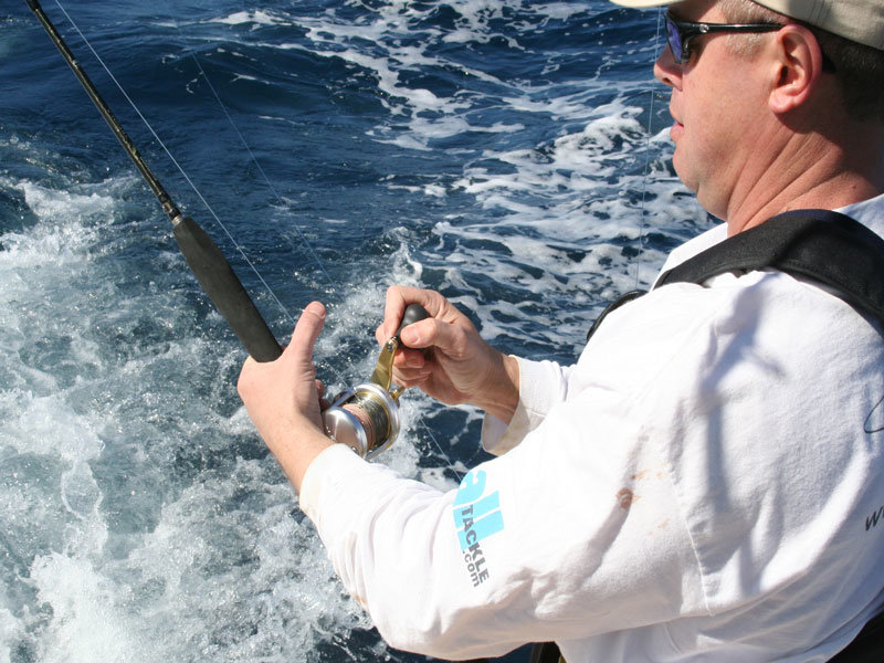 saltwater fishing reel