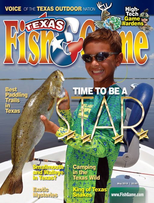 Issue Cover August 2018 Texas Fish Game Magazine
