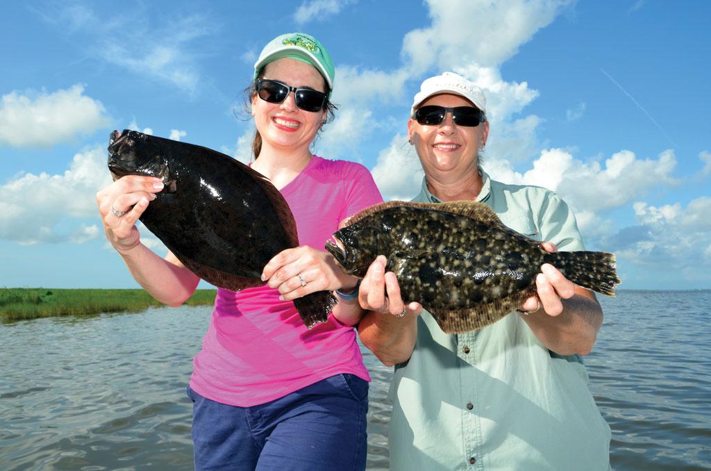 flounder bank fishing