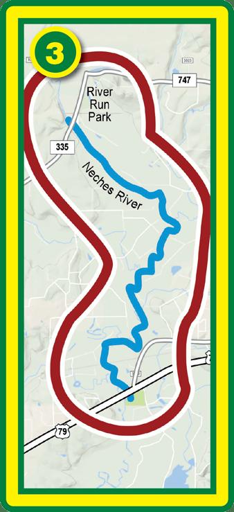 Cherokee Neches Paddling Trail