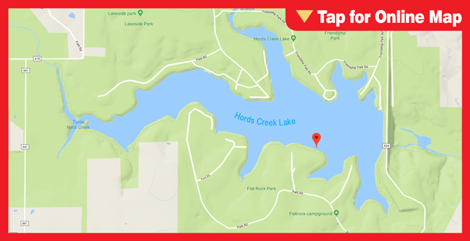Hords Creek Reservoir
