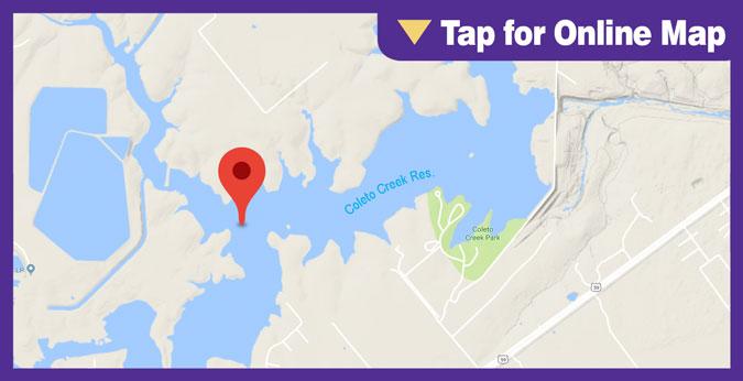 Coleto Creek Lake: Sulphur Creek