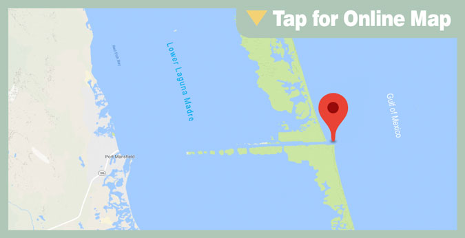 Port Mansfield HOTSPOT: North Jetty