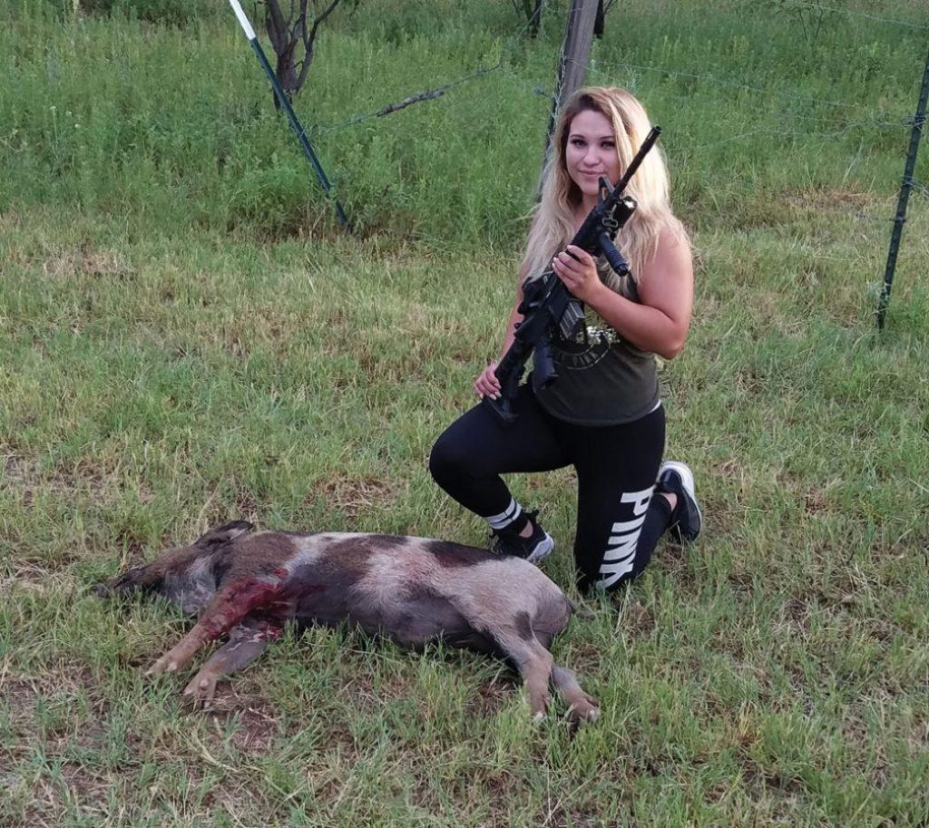 Jones County feral hog