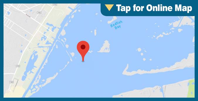 Redfish Bay HOTSPOT: Outside Dagger