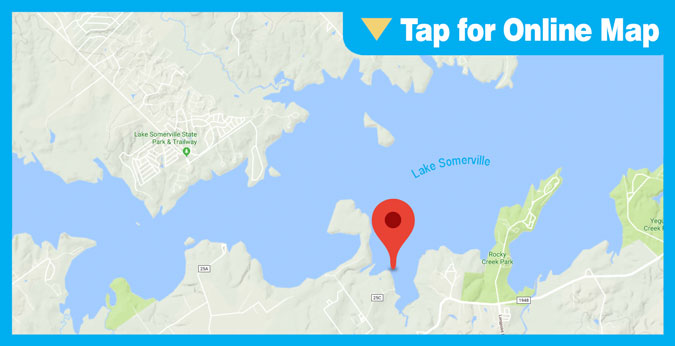 Lake Somerville HOTSPOT: Fat Point