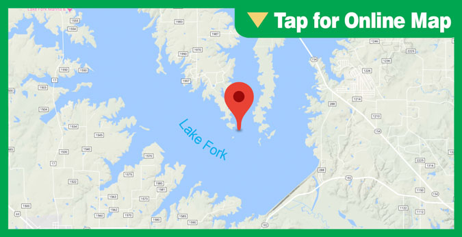Lake Fork HOTSPOT: Dale and Little Caney Creek