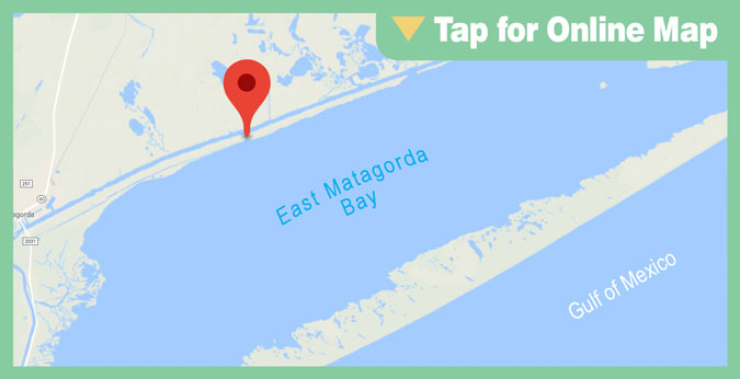 East Matagorda Bay HOTSPOT: Old Gulf Cut