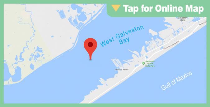 Galveston West Bay HOTSPOT: Shell Island Reef
