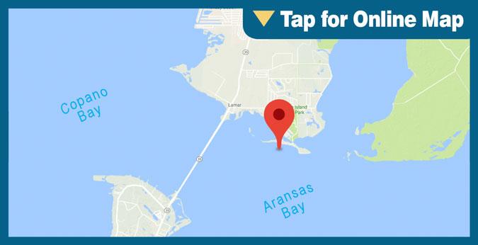 Aransas Bay HOTSPOT: Goose Island