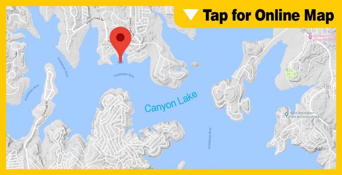 Canyon Lake HOTSPOT: Potters Creek Park Area