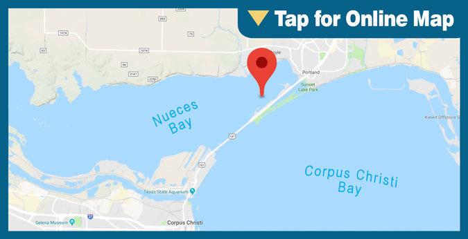 Corpus Christi Bay HOTSPOT: Nueces Bay