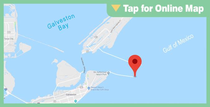 Galveston East Bay: South Jetty