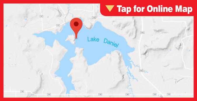 Lake Daniel: Main Lake