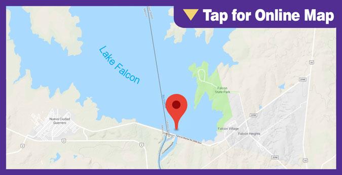 Lake Falcon: Dam Area