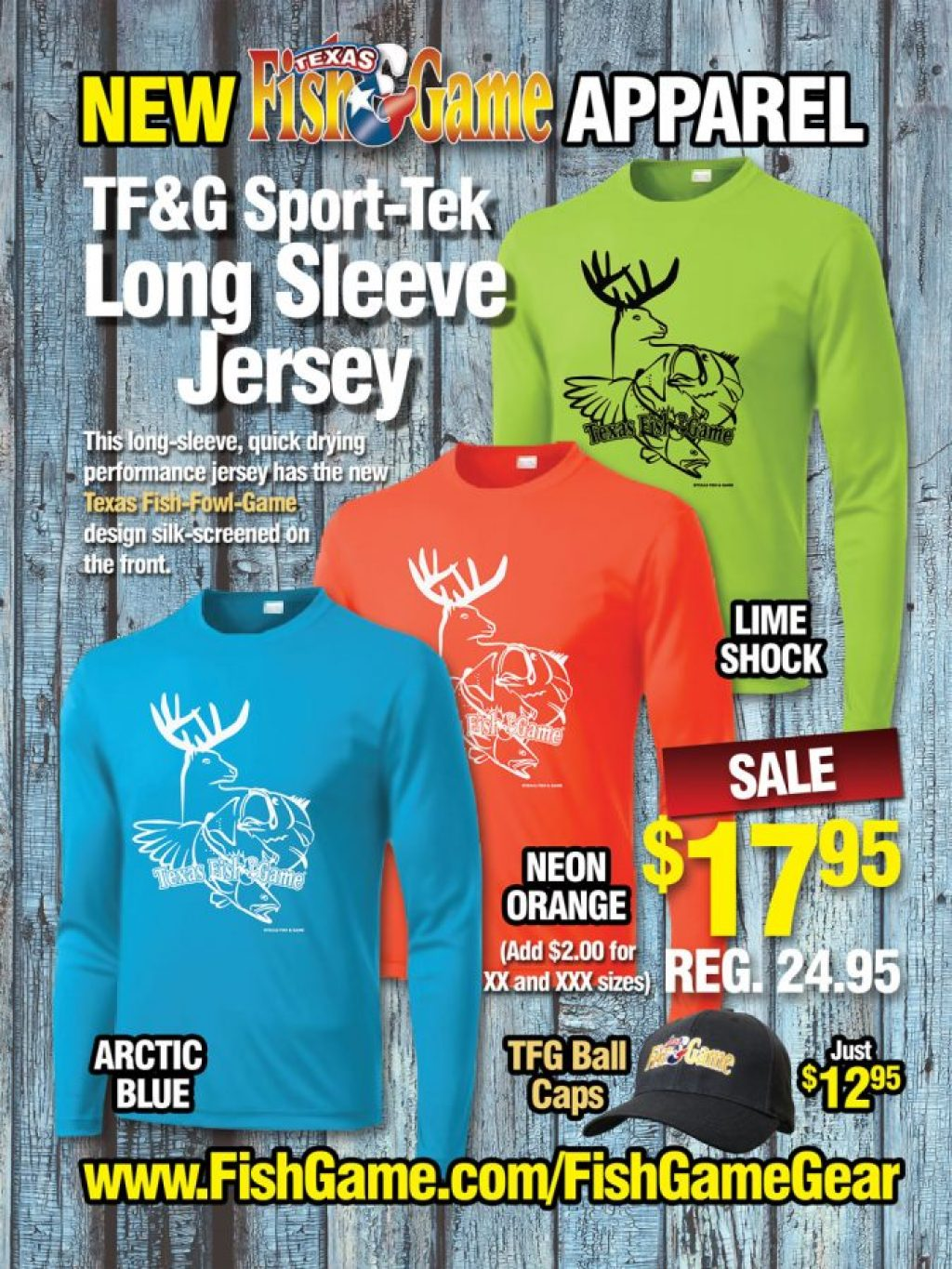 Texas Fish & Game Apparel