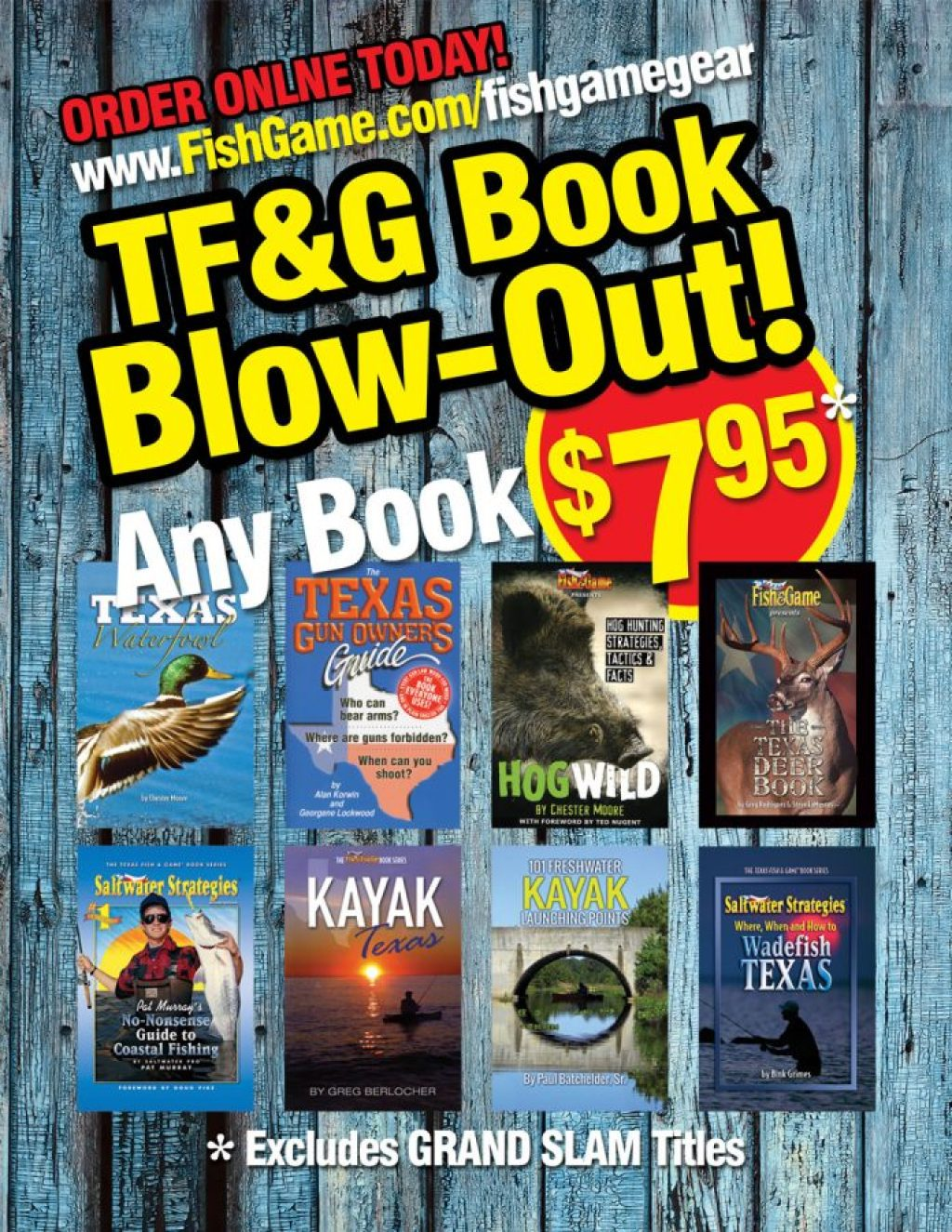 Texas Fish and Game Gear Books