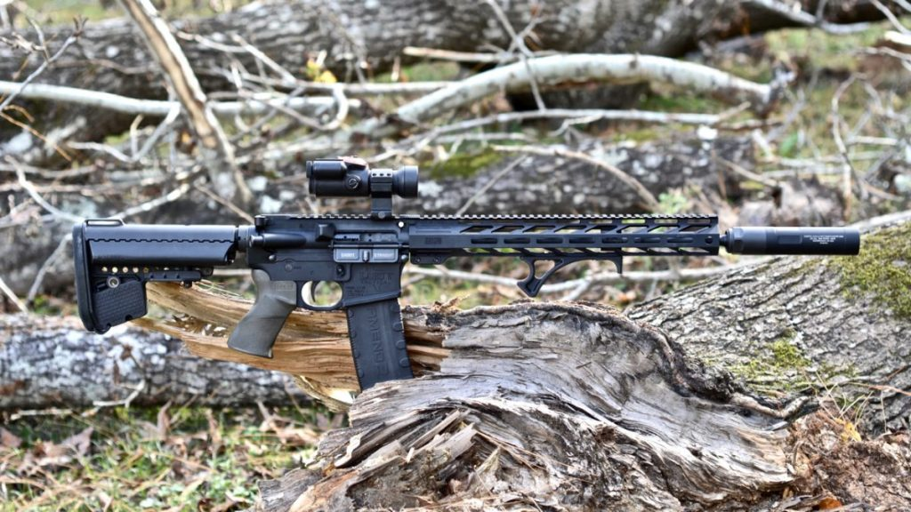 """Resistance 22M on a 16"""" AR15 in 223"""
