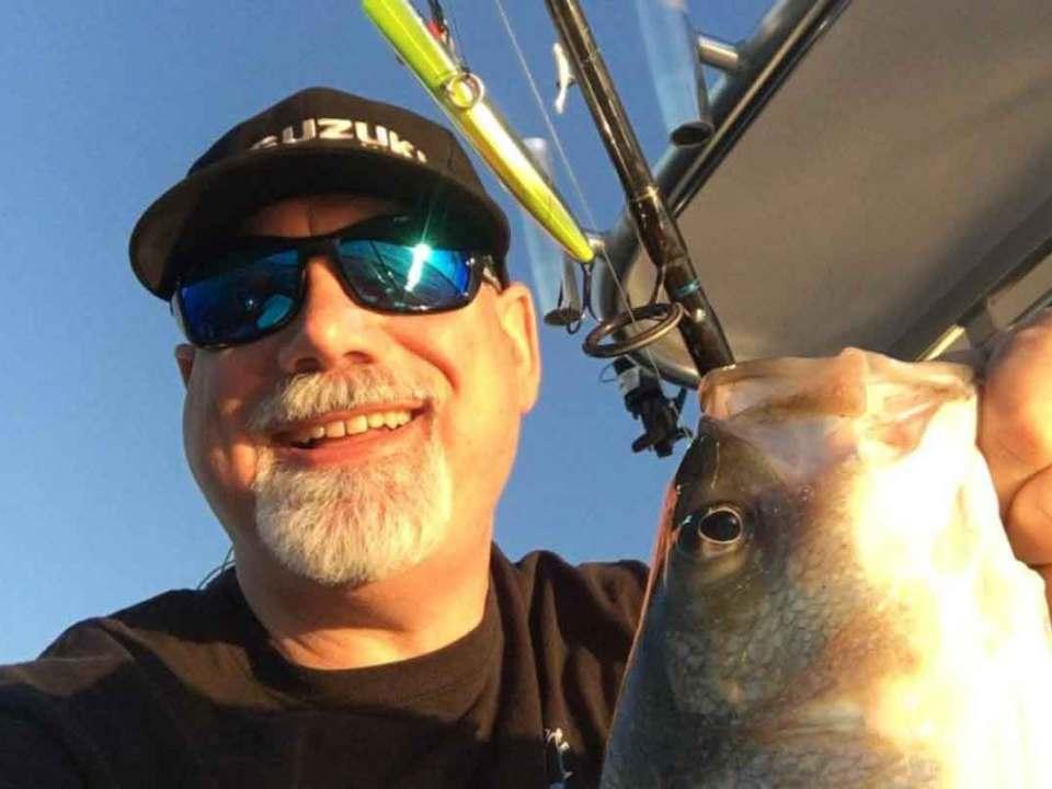 angler with fish