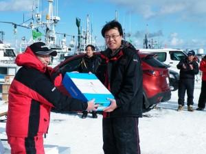第7回アングル探見丸マス釣り大会 4位シマノサーマルラジアルブーツ