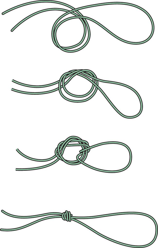 Necklace Tie Sliding Knot