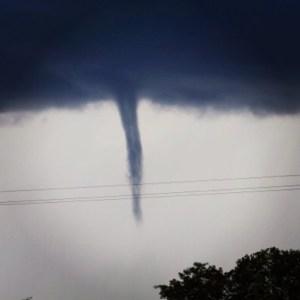 Waterspout in Belize