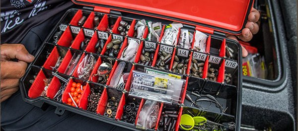 Terminal tackle storage fishing by boys 39 life for Fishing tackle organization