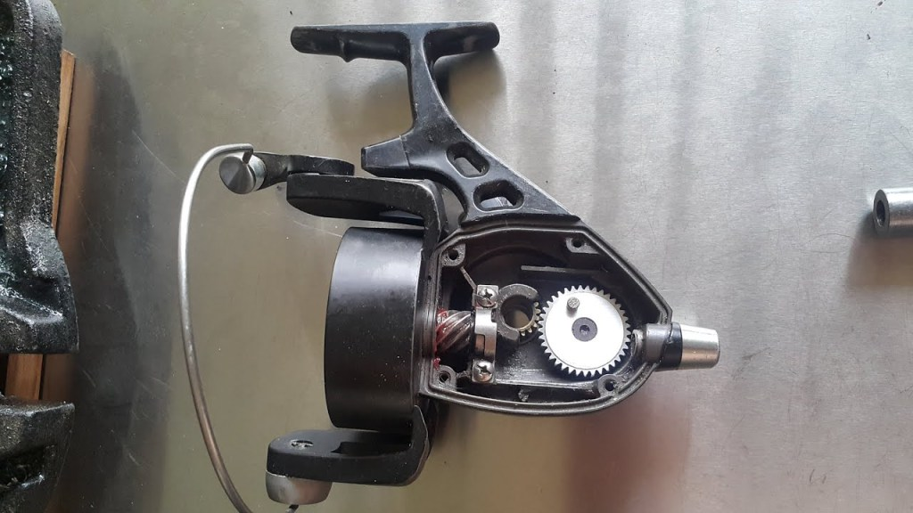 #29 - Fishing Reel - Machining a new Spool drive gear