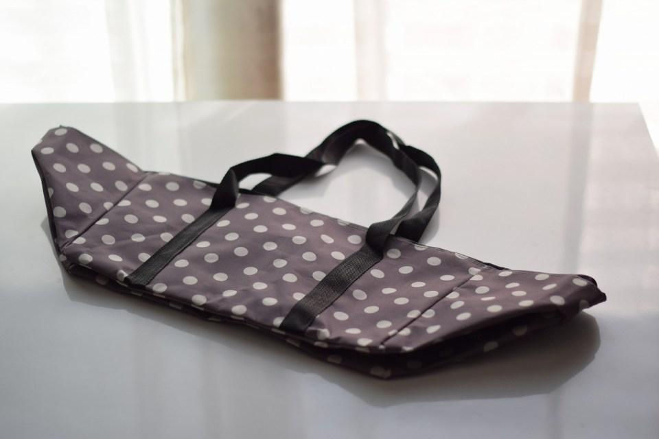 レジかごバッグの畳み方