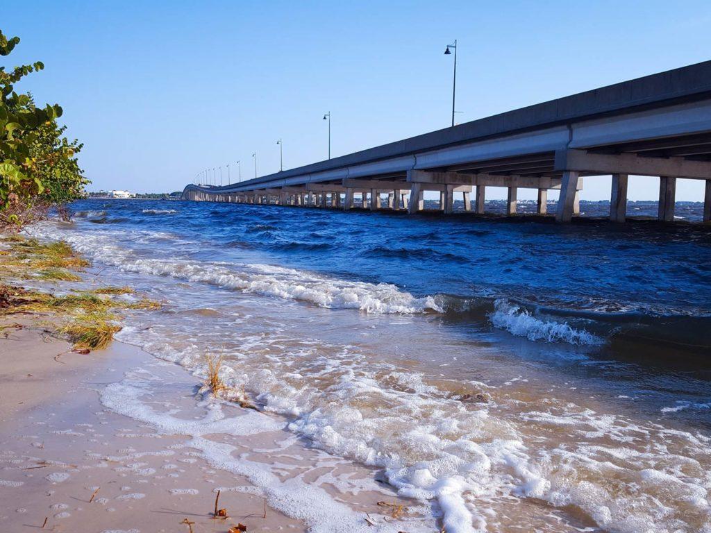 The Tamiami Trail Bridge over Charlotte Harbor
